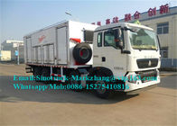 Mine Blasting Mining Crushing Equipment Site Mixed Charged Emulsion ANFO Truck BCRH-15T