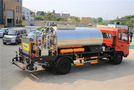 6000L Road Construction Paver Machine / Flat Head 4×2 Rear Drive Asphalt Sprayer Equipment