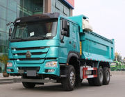266-345hp Howo 6x4 Dump Truck 30 T Diesel Fuel Type Stable Structure